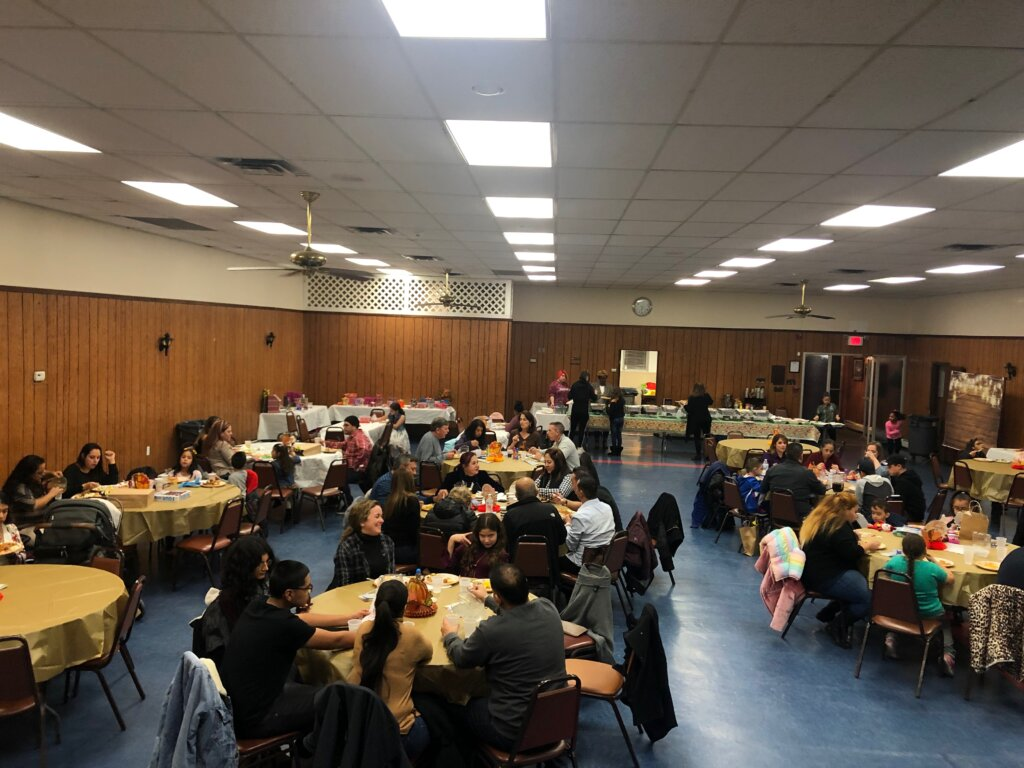 Elmwood Park VFW Post 5084 Hosts Friendsgiving National Guard